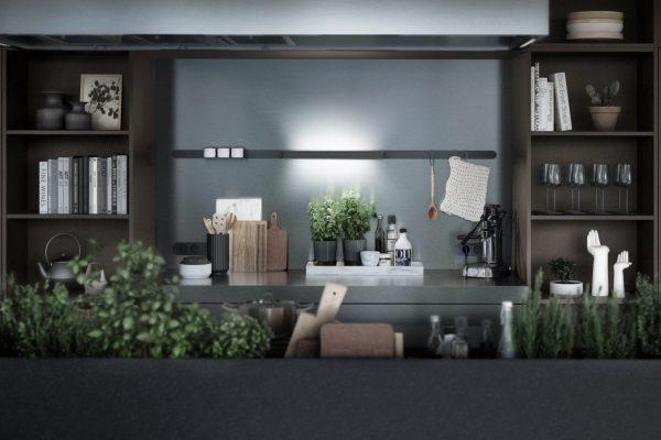 SieMatic urban keukens kruidenbak