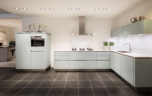 U keuken met schiereiland fris moderne keukens met kookeiland