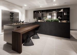 zwarte keuken siematic