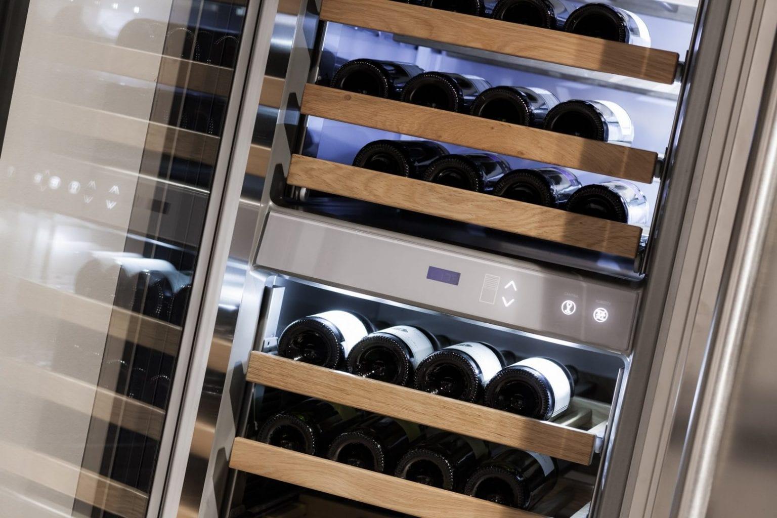De voordelen van een wijnklimaatkast op een rijtje